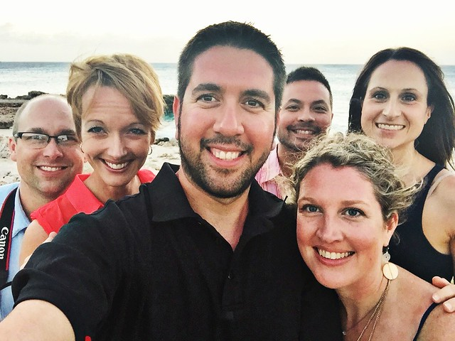 One of my favorite 6 person selfies!