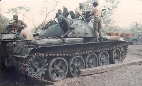 Jonas Savimbi angola tank