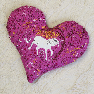 quilted heart heat pack -back