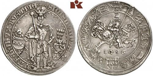 Lot 498 1446-1496. Guldiner
