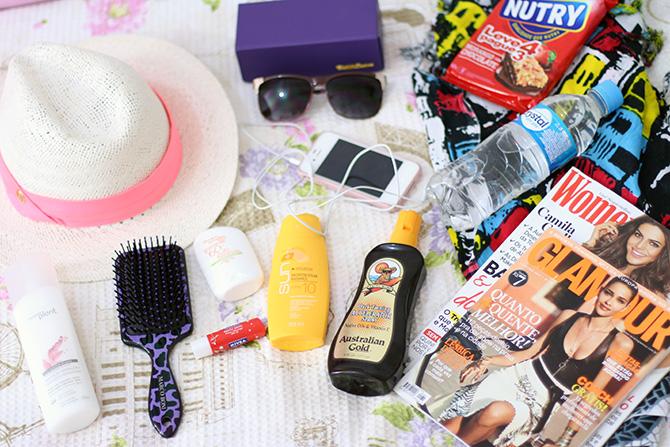 o que eu levo na minha bolsa de praia jana taffarel blog sempre glamour