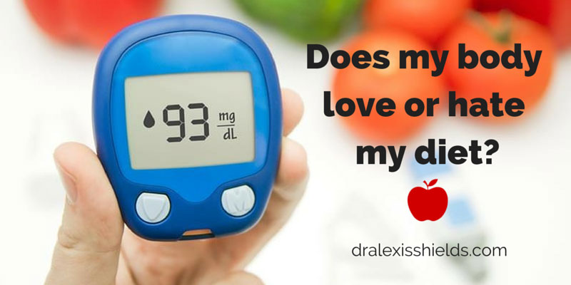 Want to know if your diet is healthy? Track your blood sugar.