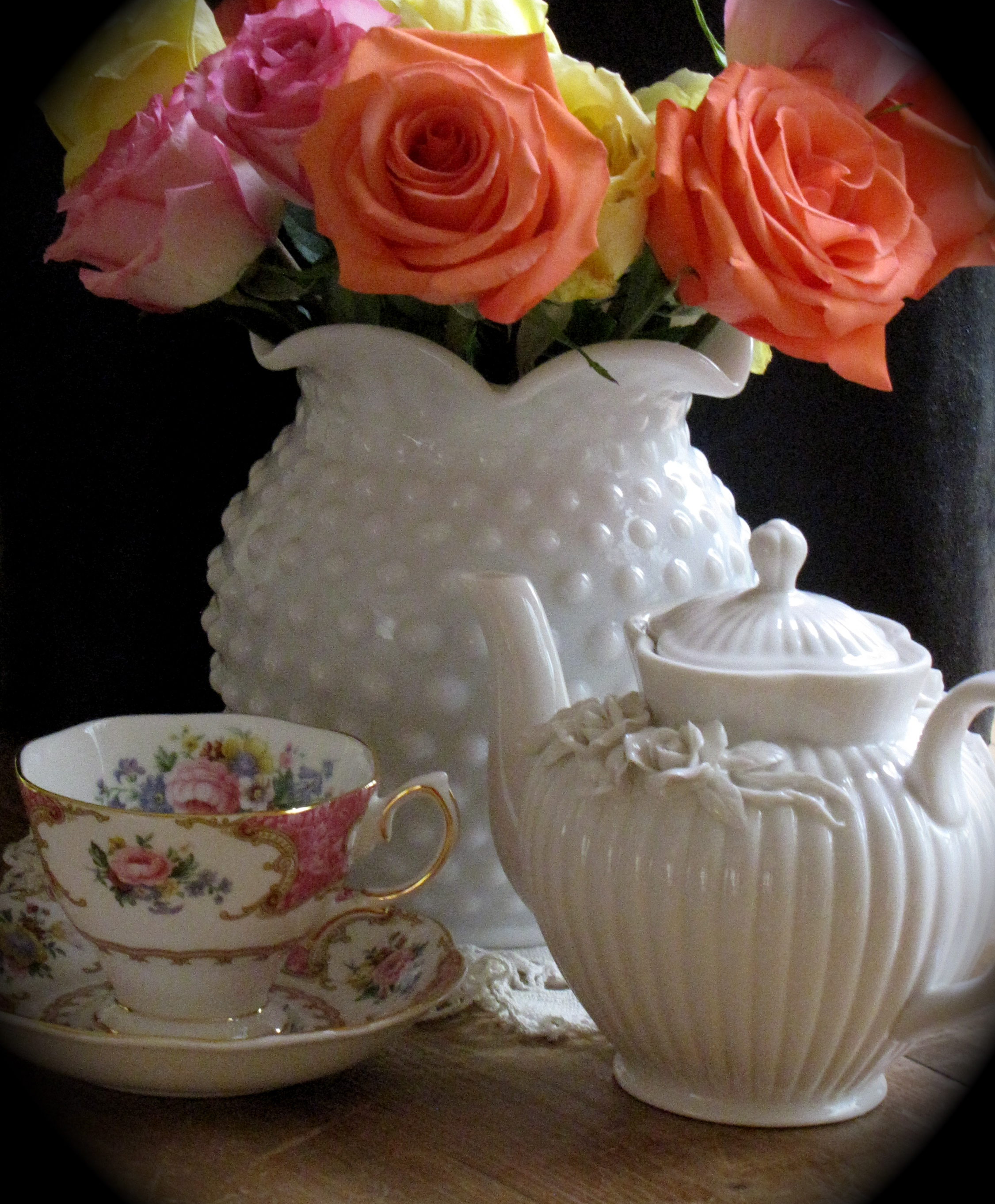 Tea with Lady Carlyle