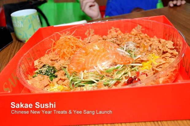 Sakae Sushi Chinese New Year Treats & Yee Sang Launch 12