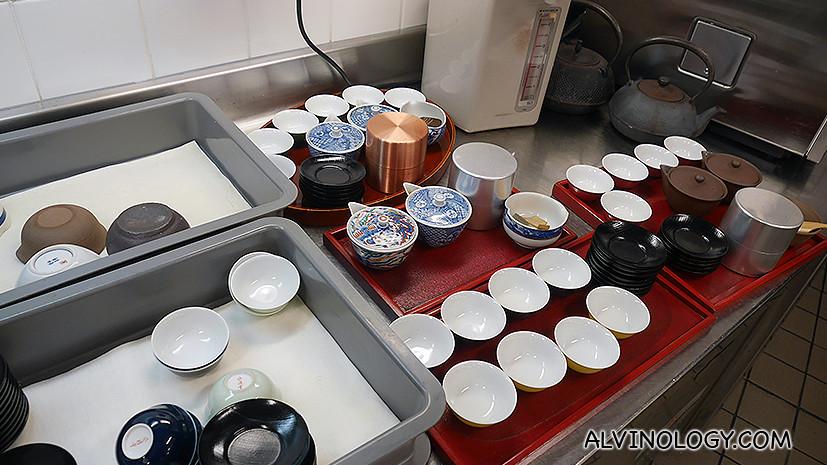 Tea station