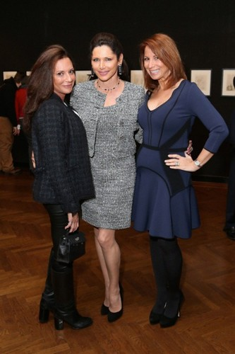Diane Davis, Sheila Rosenblum, Jill Zarin==.Dali: The Golden Years==.The National Arts Club, NYC==.February 04, 2015==.©Patrick McMullan==.photo - J Grassi/PatrickMcMullan.com==.==