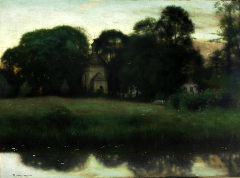Józef Pankiewicz - Park in Duboj (1897)