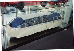 Mercedes Benz Autobahn Streamliner Coach (Model of 1936 coach)