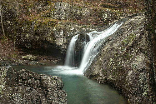 water creek waterfall arkansas hotsprings lakecatherine