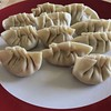 Second batch of gyoza, these are for the freezer