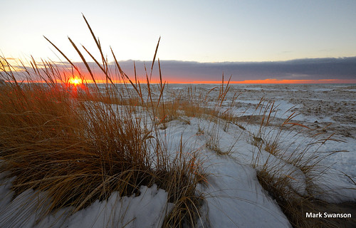 sunset lake snow seascape ice beach nature grass weather nikon michigan great wide lakes scenic sigma 1020mm d5100