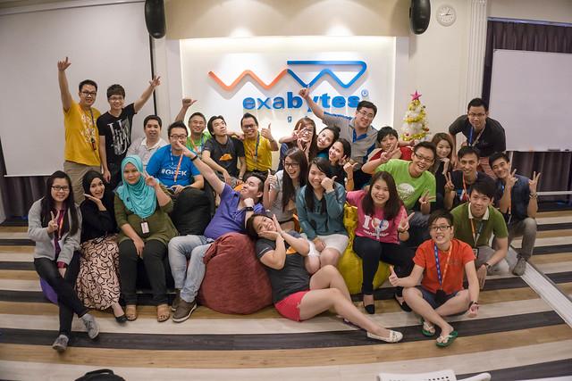 Exabytes Internal Marketing Summit 2015 group photo