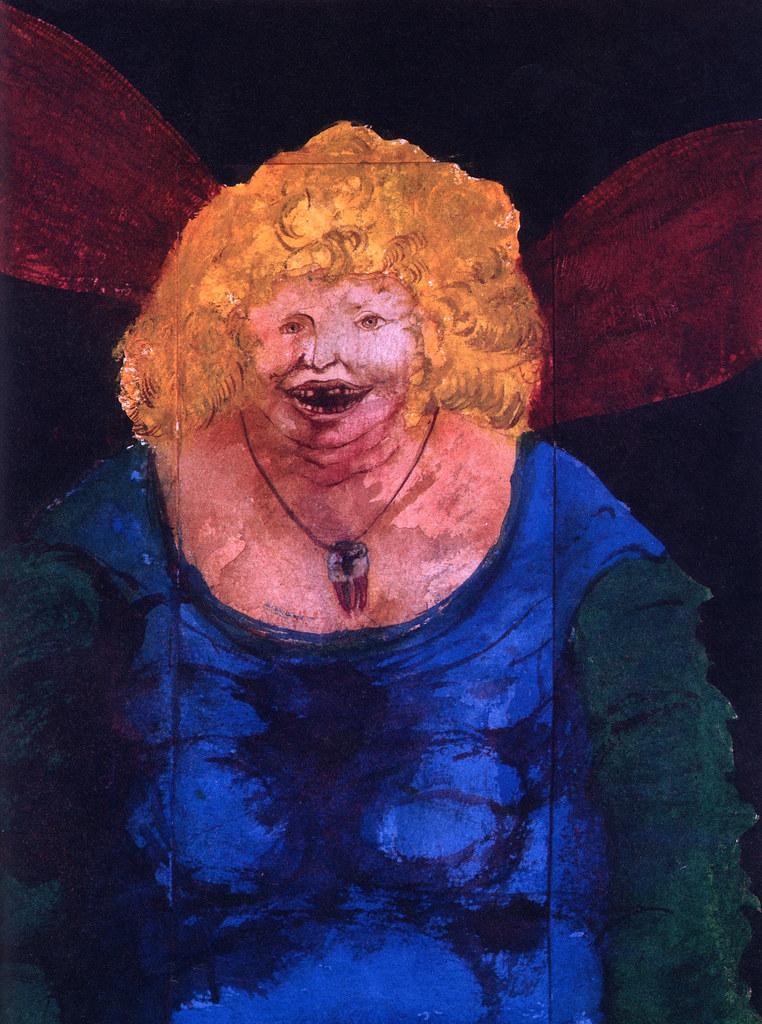 Leonard Baskin - The Tooth Fairy