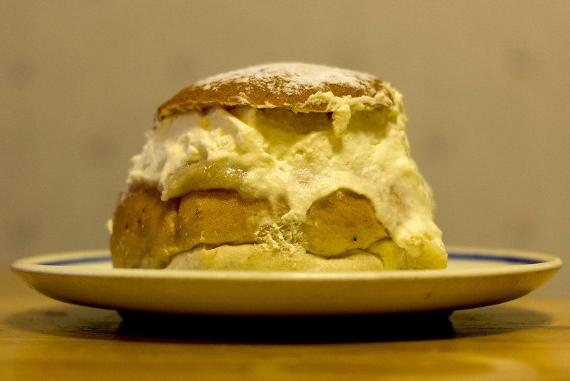 First Semla of the Year