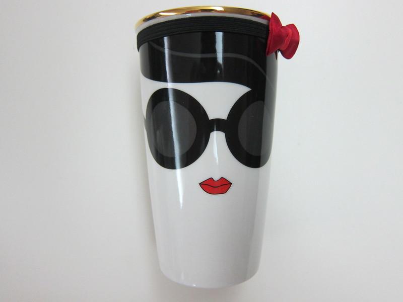 Starbucks alice + olivia Design Collection - Ceramic Mug Front