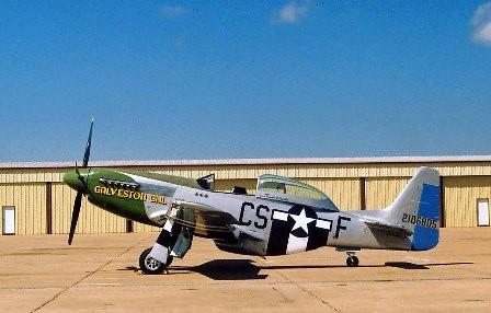 Mustang P-51 Galveston Gal