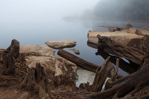 africa lake nature water weather fog clouds river scenery malawi zomba southernregion mulunguzidam mulunguzistream