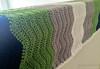Length of Ripple Baby Blanket