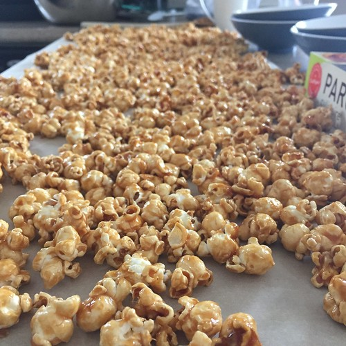 Carmel corn is heavenly.