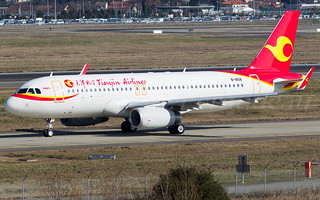 B-1658 Tianjin Airlines Airbus A320-232(WL) - cn 6449