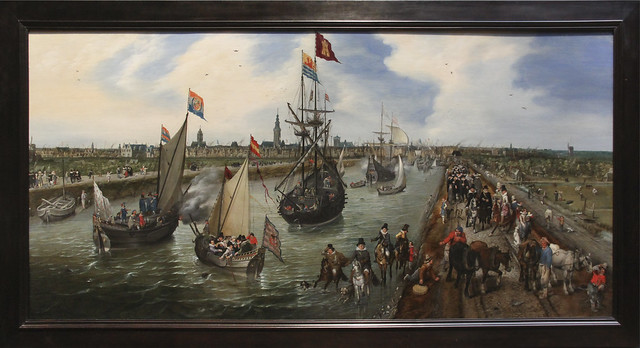 The Departure of a Dignitary from Middleburg, 1615 Adrian Pietersz van de Venne