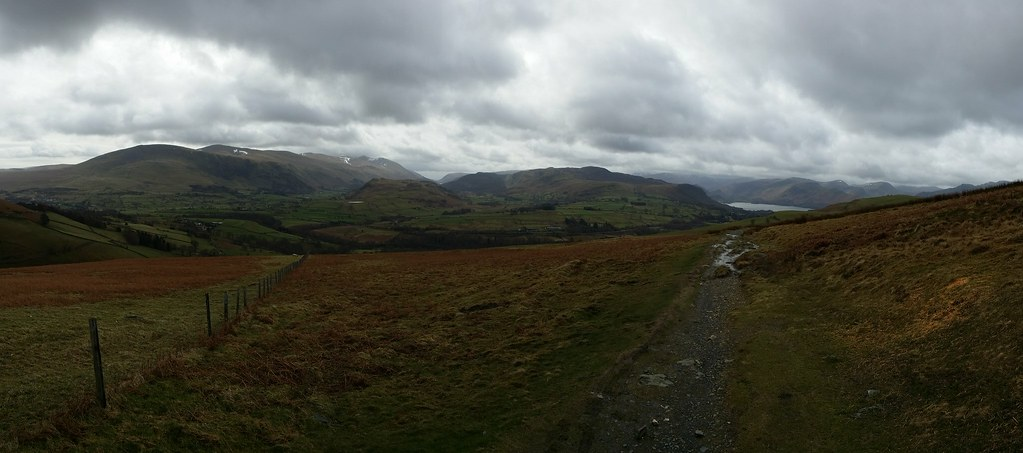 Along the Cumbria Way to Keswick #sh