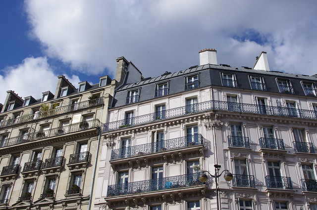 Paris - Looking Up