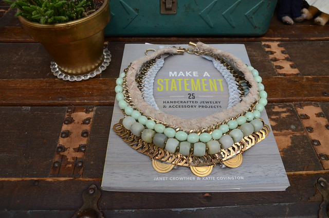 For the Makers Book Review // Statement Necklaces