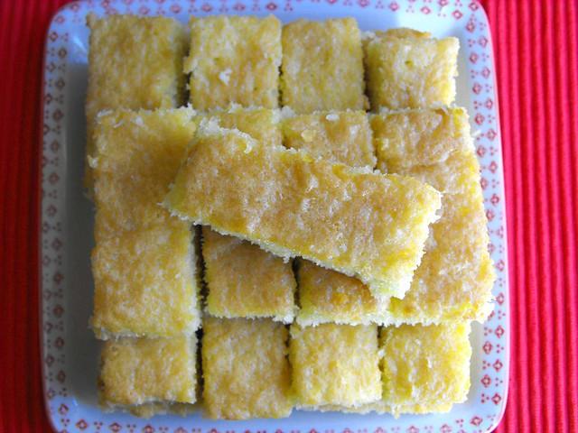 Rectângulos de coco extra fofos