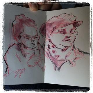 Train sketching