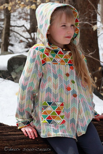 Peek-a-Boo Pattern Shop, Boardwalk Hoodie & Henley FLIP {Deux Souriceaux}