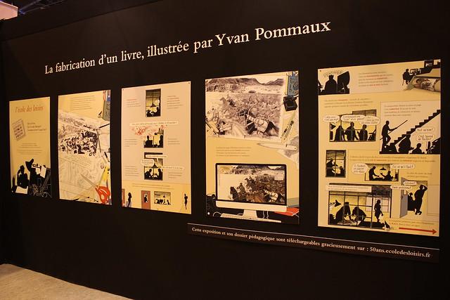 La fabrication d'un livre, Yvan Pommaux - 50 ans l'école des loisirs - Salon du Livre de Paris 2015