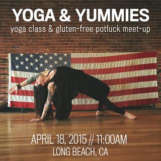 Yoga and Yummies April