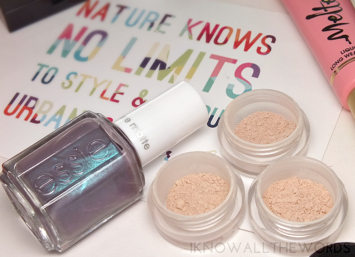 essie coat coture urban minerals mineral foundation