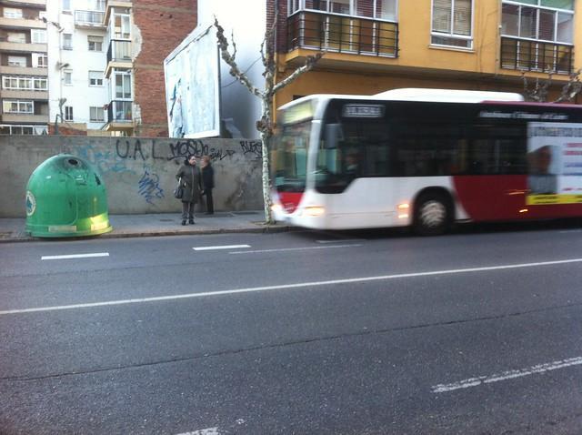 Parada bus Pendón de Baeza