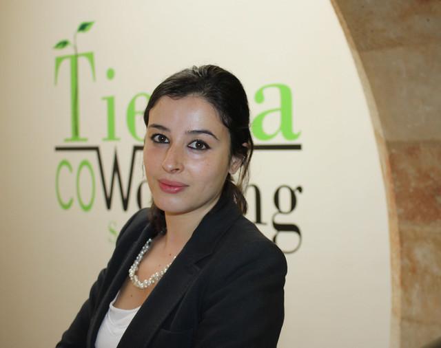 Nesrine Rajel fundadora de una firma de exportación de productos alimentarios españoles a países árabes