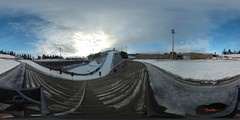 Holmenkollen ski jump 360 °