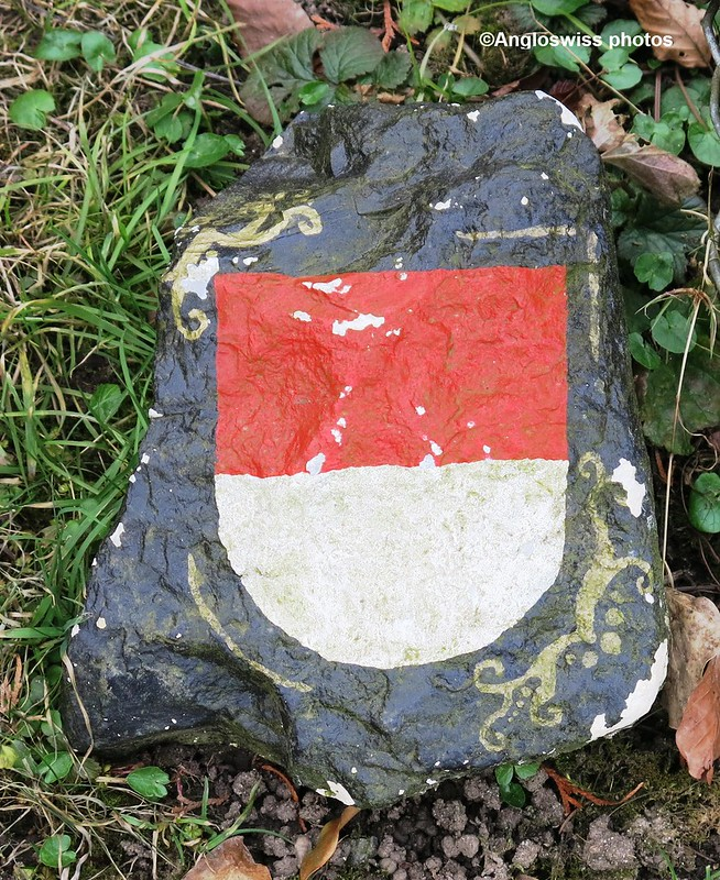 Solothurn Shield, entrance St. Kathrinen cemetery