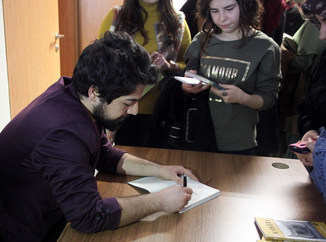 Uçurtma Mevsimi Kitabı'nın genç yazarı Üsküdarlı öğrencilerle buluştu… 2
