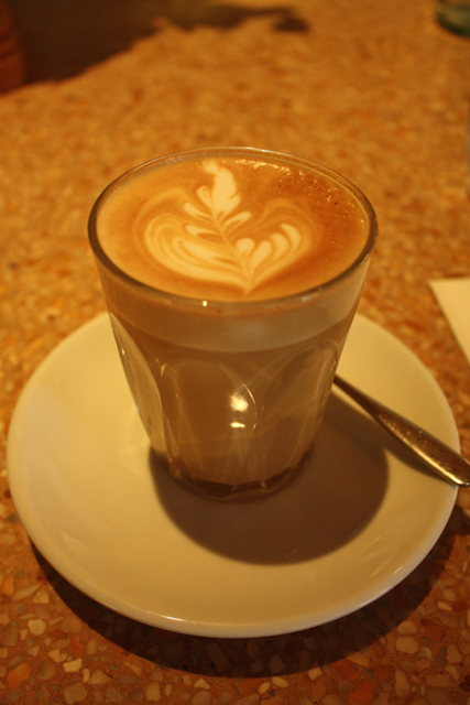 Latte at Granger & Co., Notting Hill, London