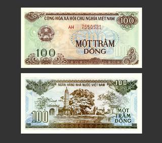 Vietnam 100 Dong - 1990s