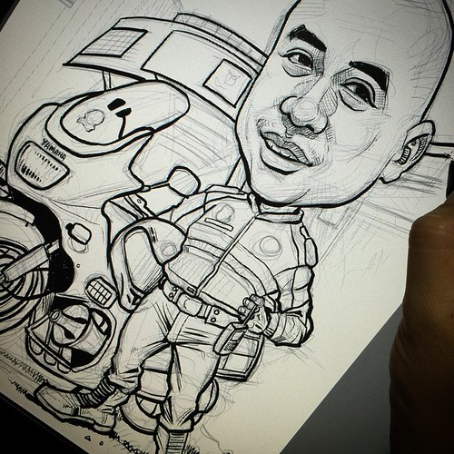 Inking......
