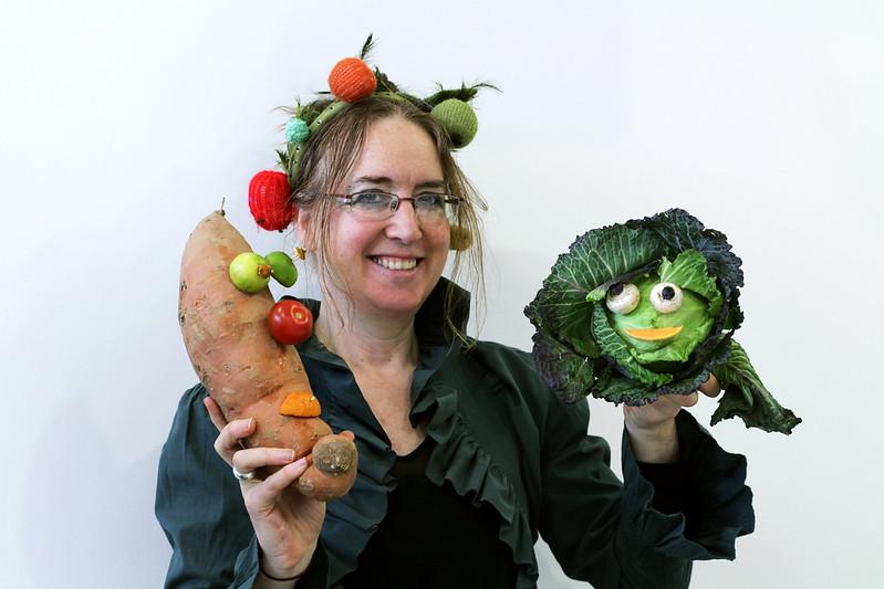Zucchini lady