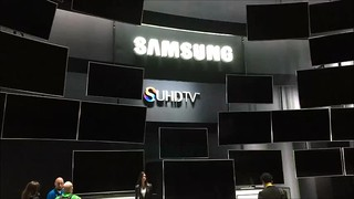 Nanocrystal Semiconductors Working In Harmony - Samsung SUHD - 2015 CES - Las Vegas, NV
