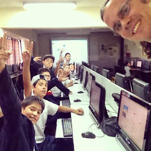 Comenzamos los talleres de Periodismo y TV 2015 📷📹✌️