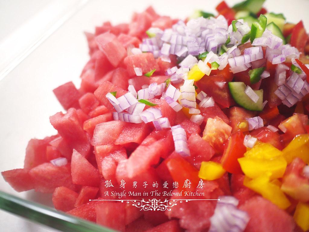 孤身廚房-西班牙西瓜冷湯14