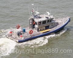 NYPD Police Patrol Boat Launch 453, 2016 Fleet Week New York