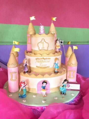 Baby Princess Castle Cake of Heavenly Sweet Treats by Joy