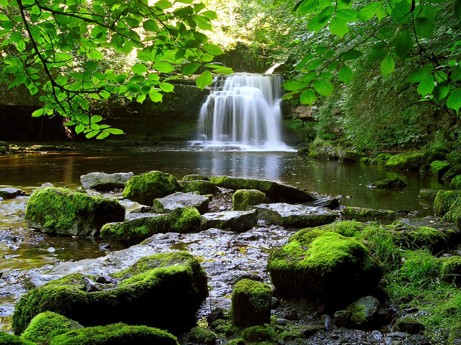 West Burton Waterfalls. Credit ukgardenphotos