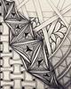 Tangling til tired. #zentangle #art #arttherapy #drawing #blackandwhite #penandink #illustration #ink #creative #freehand #handdrawn #zenart #zenhenna #CZT18 #CZT #certifiedzentangleteacher #pattern
